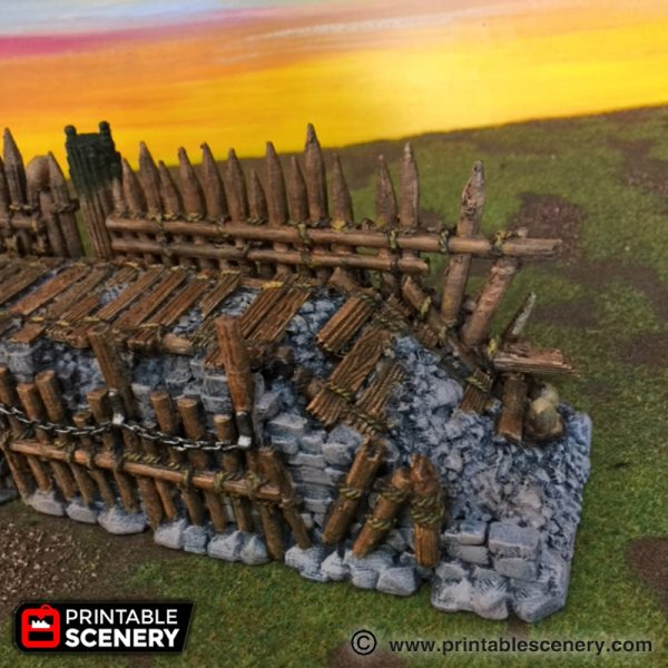 Tribal Ramparts Printable