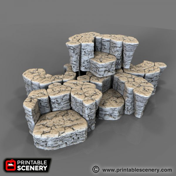 Stackable Printable Rocks