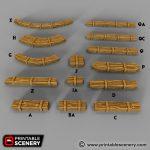 Wooden Beams Printable