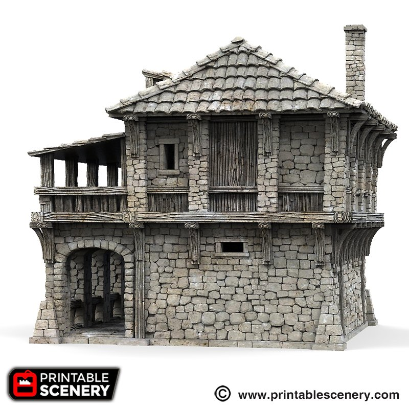 graphic relating to Printable Scenery identified as The Warehouse