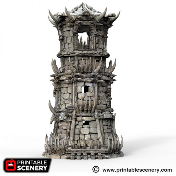 Orc Fort 3d Printable Tribal