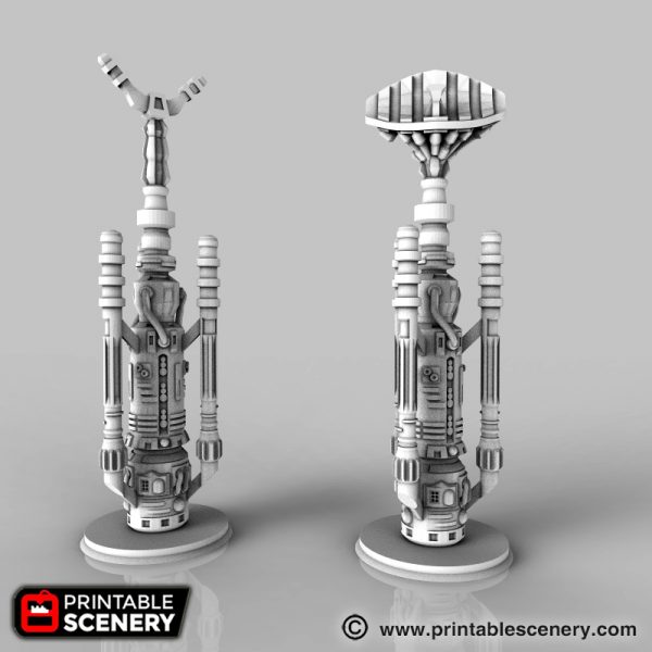 SciFi Vaporator Printable