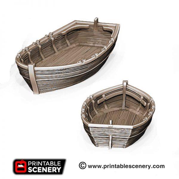 3D Printed Row Boat