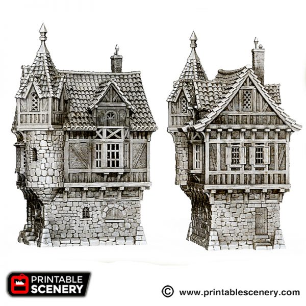 3D printed Mansion House