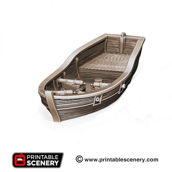 3D printed Skiff Boat