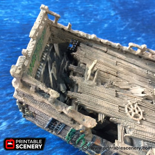 The Ship Wreck Printable