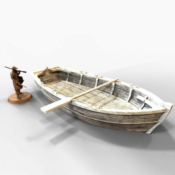 Long Boat Printable