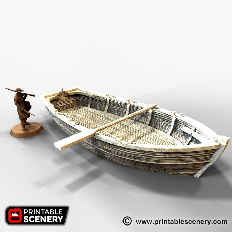 Long Boat (Row Boat)