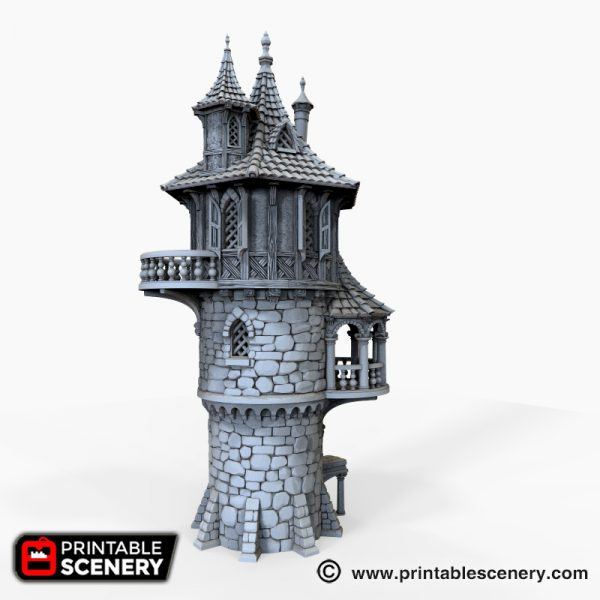 Wizard Tower Printable