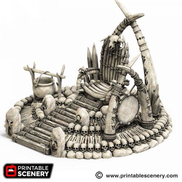 War Boss Throne Printable