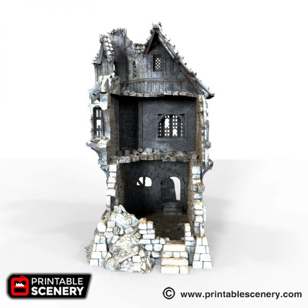Ruined Governors Mansion Printable