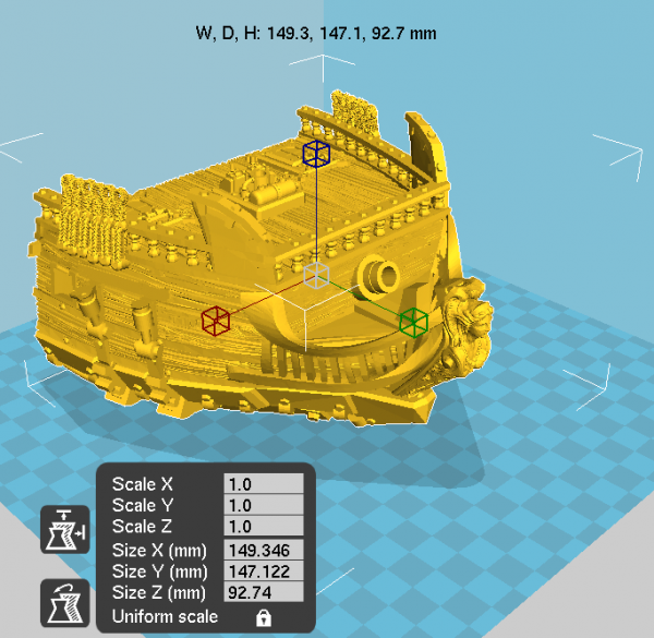 Air Frigate Printable