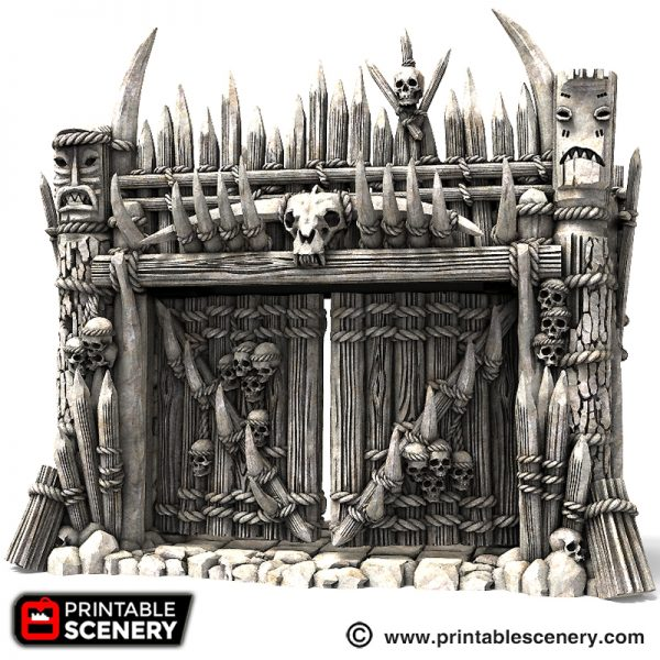 Entry Gate for Ramparts Printable