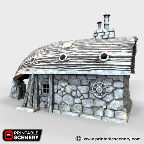 Captains Boat House Printable