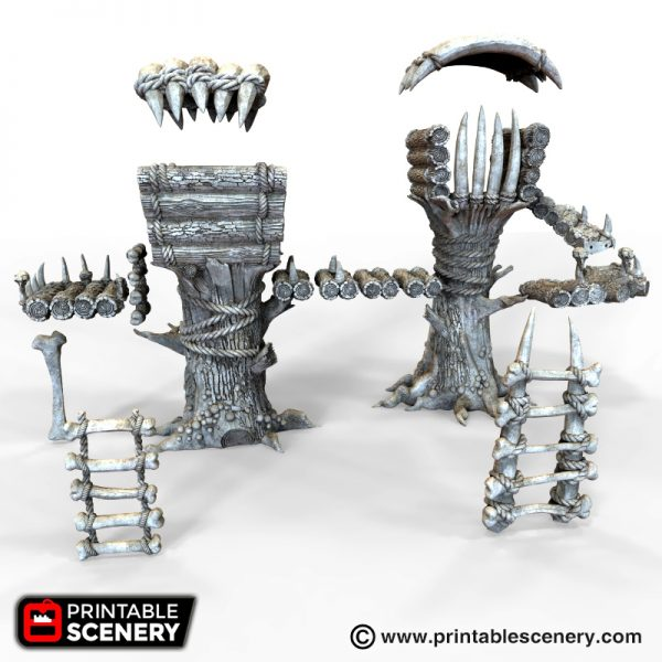 Tribal Cells 3D printable