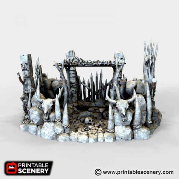 Burial Platform 3d printable