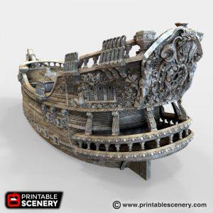 Galleon Printable
