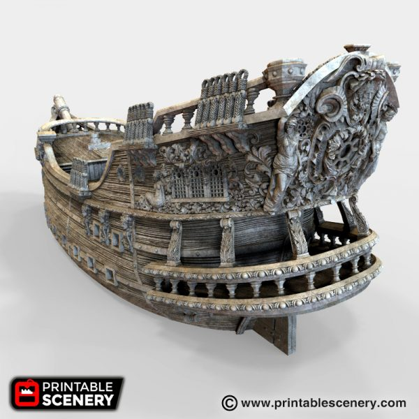 Galleon Printable