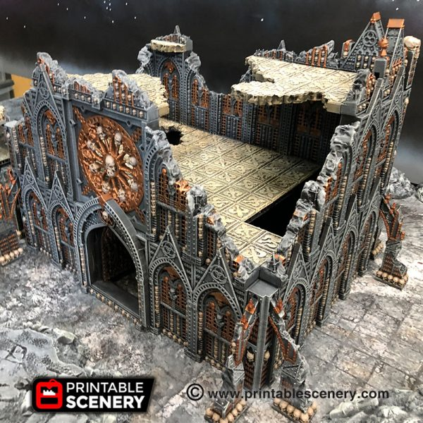 3d print OpenLock Demon Cathedral Ruins