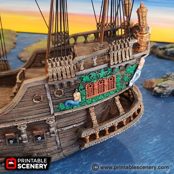 Galleon 3D printable