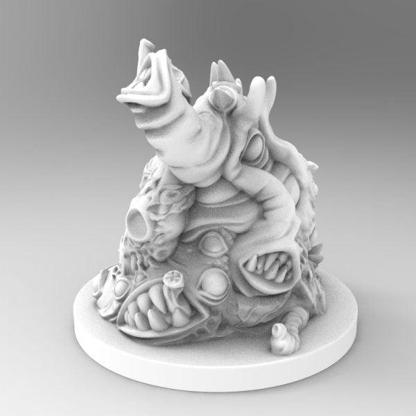 Jabbering Horror 3D printable