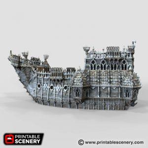 Black ship 3d printable