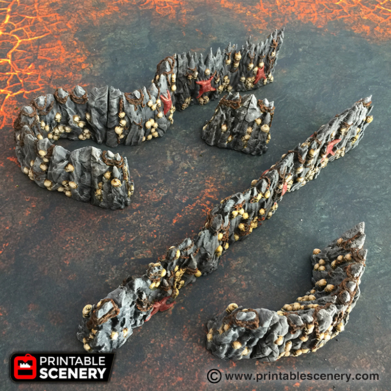 3d Printable Scatter RPG Warhammer terrain