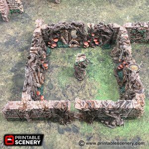 3d Printable Scatter RPG Elves Elven Warhammer terrain