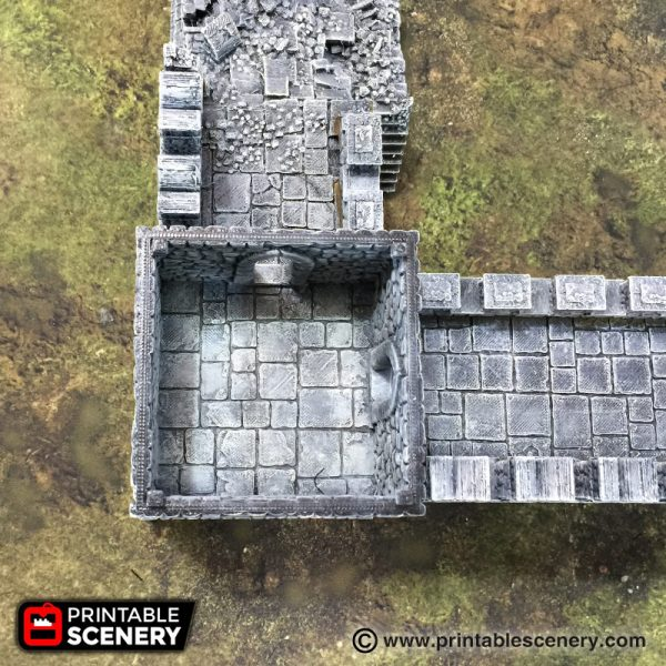 Port Winterdale Bastion and Ramparts 3D printable