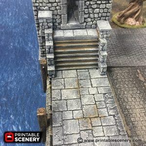 Port Winterdale Pirate Malifaux RPG Fantasy Terrain