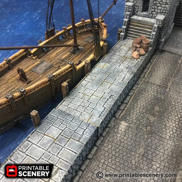 Port Winterdale Pirate Malifaux RPG Fantasy Terrain
