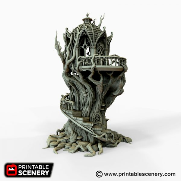 Gloomwood treehouse 3d printable