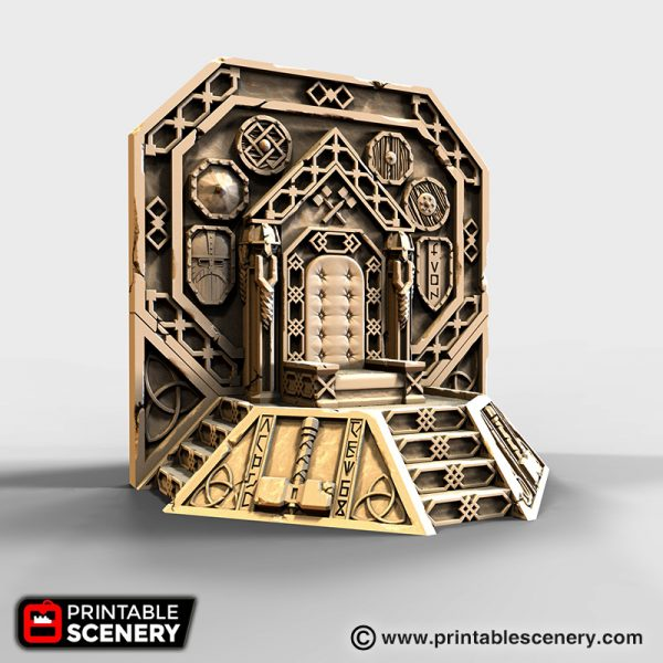 dwarven Ironhelm Throne 3d printable