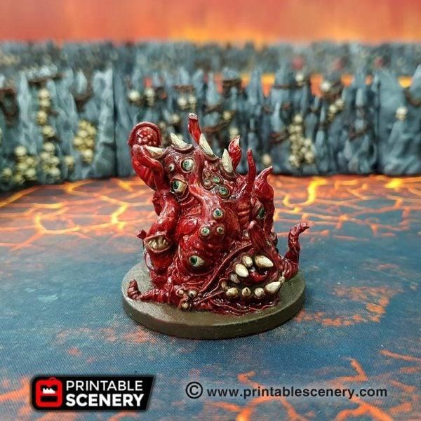 Demon Age of Sigmar Warhammer dungeons dragons pathfinder 3dprint