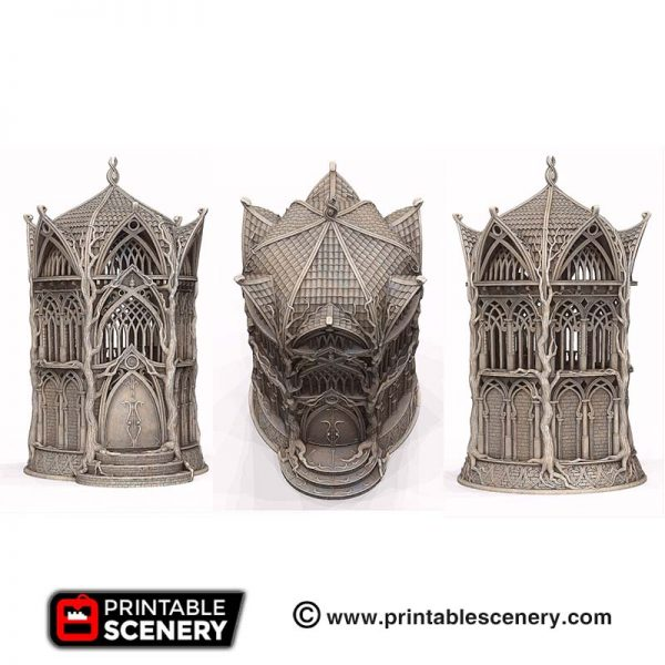 3D printed Library of Ithillia