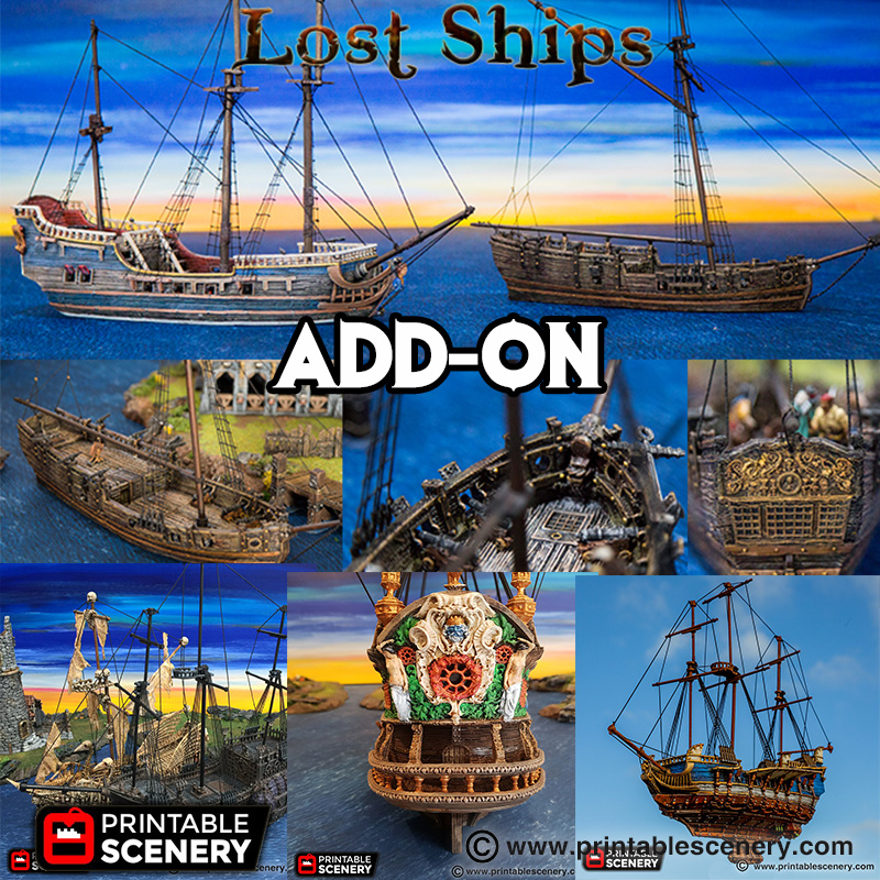 Add-On The Lost Ships