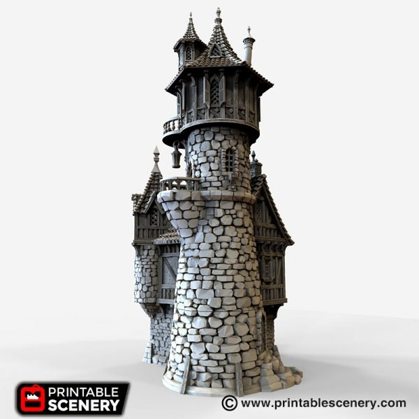 Sorcerer Tower 3D printable
