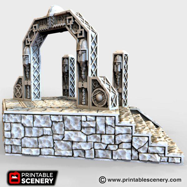 Dwarven Portal Printable