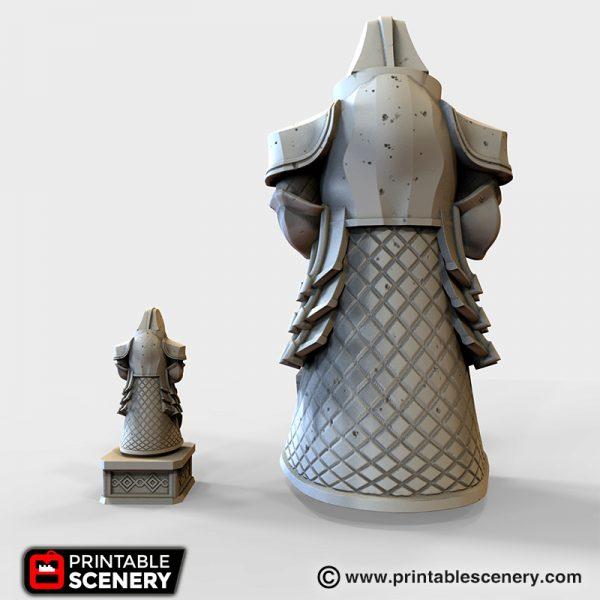 Dwarven Statue Printable