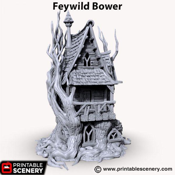 3d printed Feywild Bower