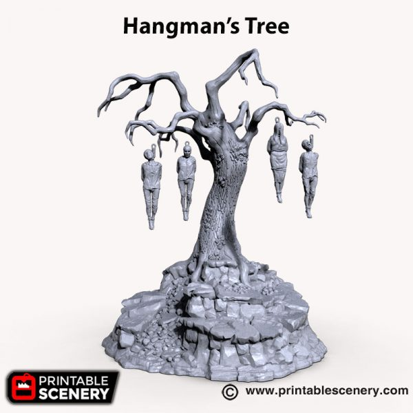 3d printed Hangman Tree