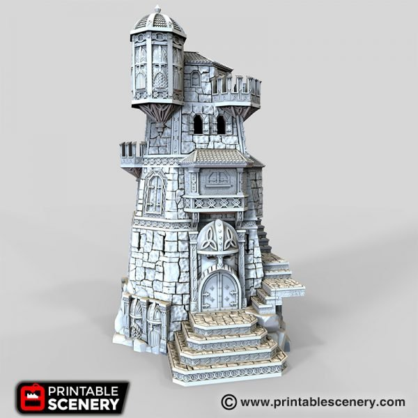 Dwarven Ironhelm Fortress Printable