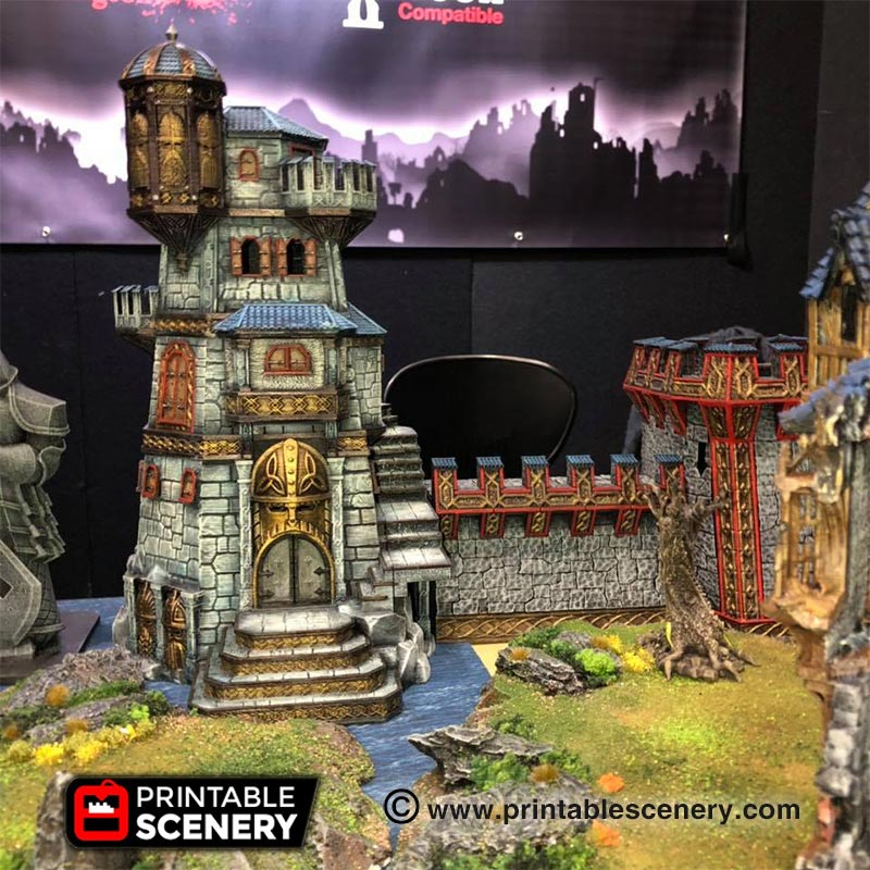PAX Melbourne 2018 Printable scenery
