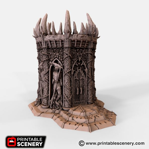 Demon Temple of the Damned Printable