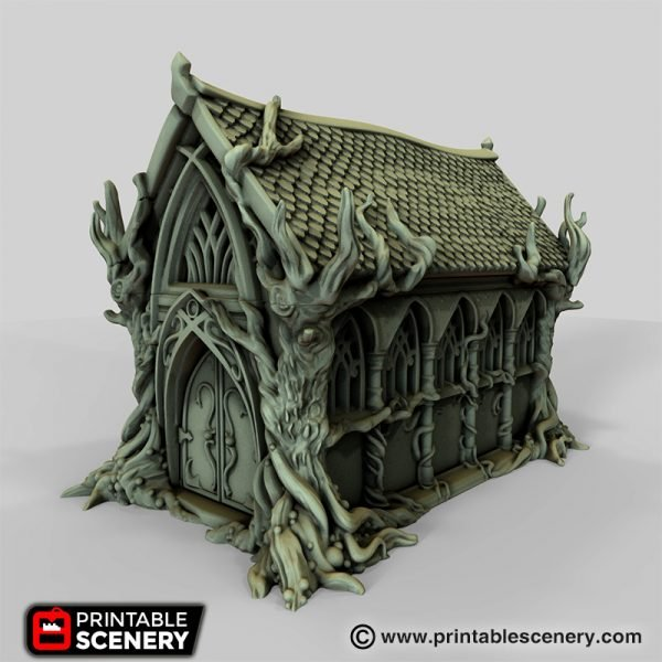 Elven Living hall printable