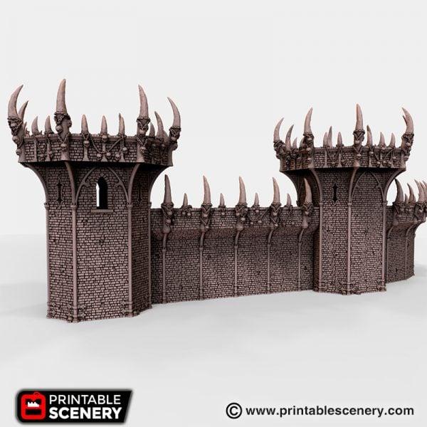 Doom Ramparts 3D printable