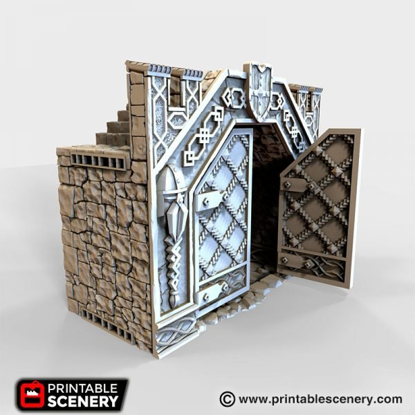Ironhelm Forge Gate 3D printable