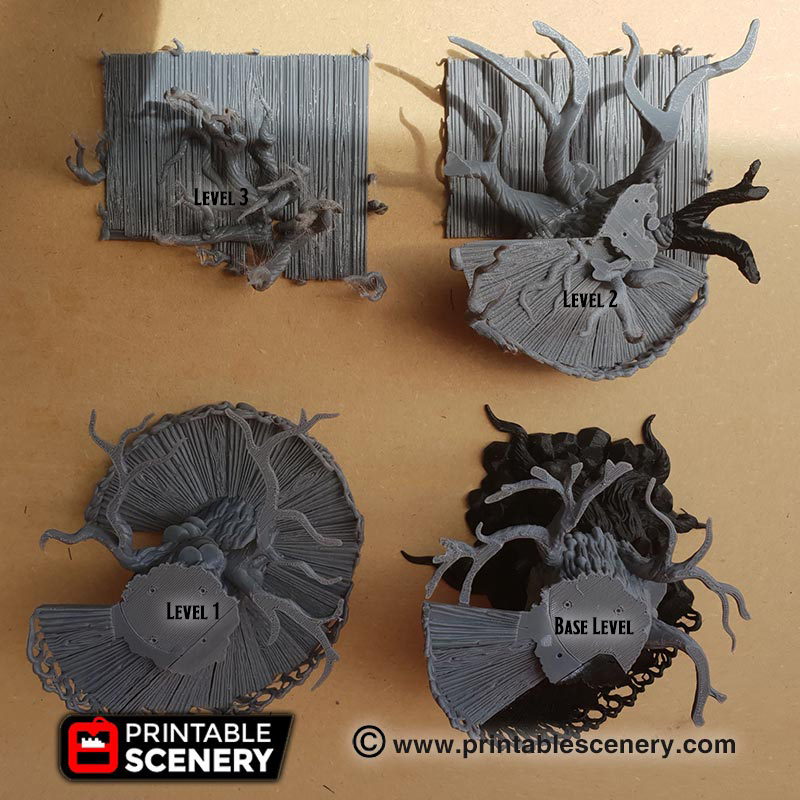 Elves Age of Sigmar Warhammer dungeons dragons pathfinder 3dprint Ithillian Sky Port Assembly Guide