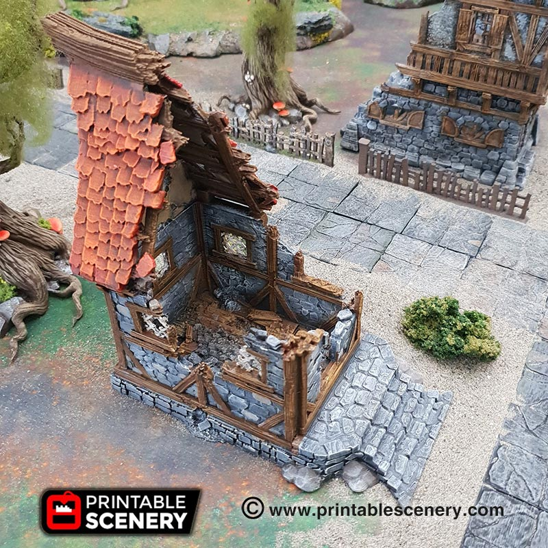 Ruined Small Cottage