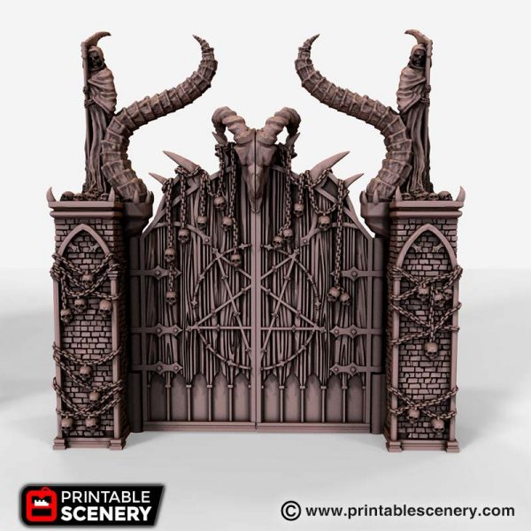 Gates of Doom 3D printable